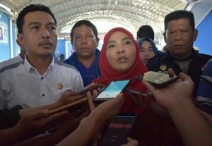 Eva Dwiana Tegaskan Belum Punya Wakil