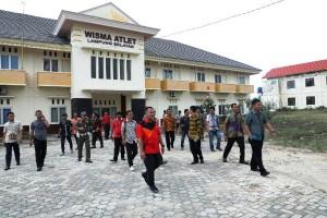 Nanang Prihatin Wisma Atlet Lampung Selatan Terbengkalai