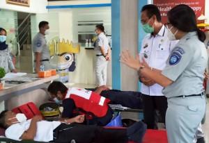 Rayakan HUT, Jasa Raharja Gelar Donor Darah
