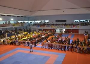 638 Karateka Ikut Kejurnas Karate Lampung Open