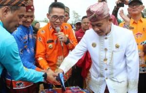 Festival Desa Pelindungjaya, Bupati Lamtim Paparkan Program Pembangunan