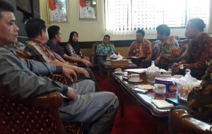 DPRD Bengkulu Tengah Belajar Kabupaten Tangguh Bencana Ke Lambar