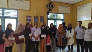 Diterima Di Perguruan Tinggi, 8 Pelajar Dapat Bantuan Dana Dari Pekon Kampungjawa
