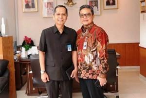 Dirut Bank Lampung Terima Kunjungan Ketua Bapomi