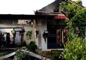 Satu Rumah Di Sidokayo Ludes Kebakaran