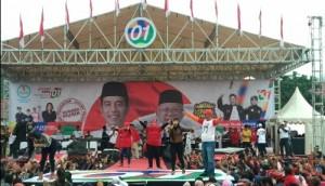 Deklarasi Pujo , Mukhlis Basri: 70 Persen Jokowi-Ma'ruf Menang Di Lambar
