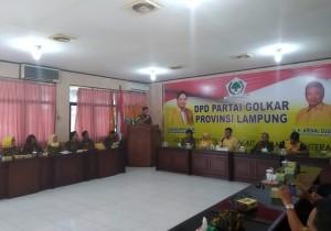 AMPG Lampung Minta Wejangan Politisi Senior