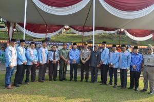 Tanggamus Gelar Apel Tiga Hari Besar Nasional Secara Bersamaan