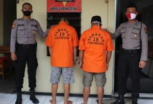 Polres Pringsewu Tangkap Dua Pelaku Penyalahgunaan Narkoba