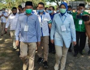 Tidak Ditetapkan, Hipni-Melin Gugat Keputusan KPU Lamsel
