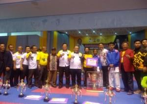 Kejurnas Karate Lampung Open 2019, KKI Raih Juara Umum