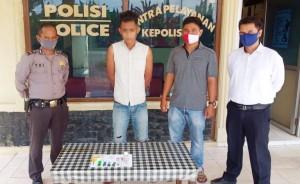 Simpan Narkotika, Pemuda Asal Pematangpanggang Ditangkap Polsek Banjaragung