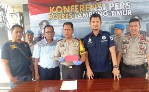 Polisi Tangkap Tersangka Pembunuhan Di Sumsel