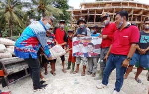 Marzuki Kunjungi Pembangunan Masjid Di Pampangan