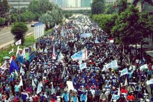 Demonstrasi Buruh Merusak Momentum Sumpah Pemuda