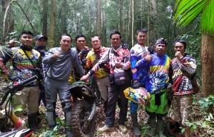 Ngetrail Bareng Komunitas Trail Pesagi Liwa