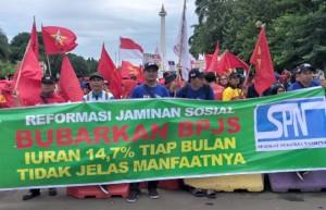 Ketua SPN Minta Jokowi Terbitkan Perppu SJSN Untuk Akhiri Penderitaan Buruh