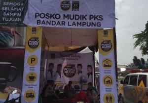 PKS Melayani Masyarakat Dengan Posko Mudik Gratis