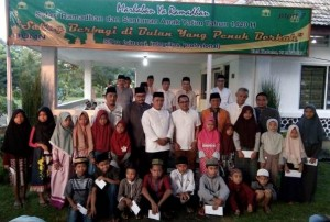 Dirut PTPN VII Safari Ramadan Bersama Plt Bupati Lamsel