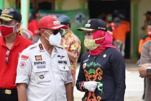 Soal Bantuan Bencana, Warga Kampung DWT Jaya Apresiasi Bupati Winarti