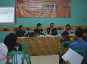 Untuk Dua Kecamatan, Mayoritas Dukungan Bacaden Bandarlampung TMS