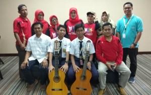 FLS2N 2019, Dua Siswa SMPN 4 Pringsewu Wakili Lampung