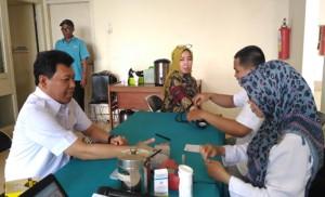 PTPN VII Kumpulkan 76 Kantung Darah