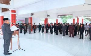 Isi Kekosongan Jabatan, Nanang Lantik 15 Pejabat Pemkab Lamsel