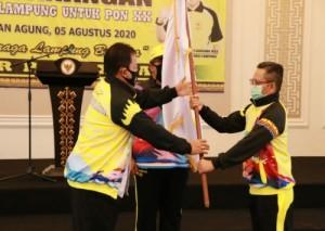 Gubernur Canangkan Pelatprov Atlet PON XX