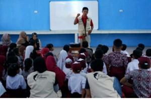 Mahasiswa UIN Sunan Kalijaga Sosialisasi Tanggap Bencana