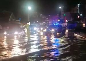 Sejumlah Wilayah Bandarlampung Tergenang Banjir, BMKG: Tetap Waspada