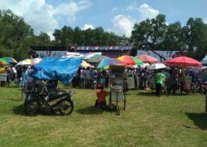 Deklarasi Pujo Di Metro, Berkah Bagi Pedagang