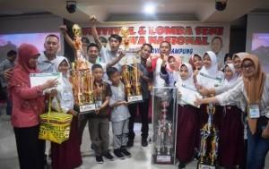 Lambar Juara Umum FLS2N SD Tingkat Provinsi Lampung