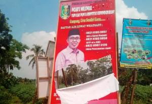 LO Sayangkan Pengerusakan Banner Zaiful Bokhari