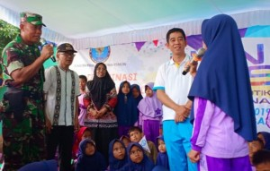 BNNK Lamtim Kampanye Bahaya Narkoba Di SMA Muhammdiyah Pekalongan