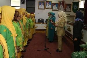 Pengurus GOW Tanggamus Hasil Msyawarah Luar Biasa Dilantik