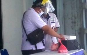 Pegawai Disperindag Pesawaran Dirapid Tes