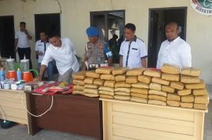 Polda Lampung Musnahkan 65,9 Kg Ganja Dan 4,21 Kg Sabu