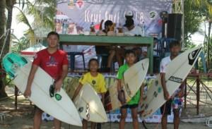 Krui Surf Munculkan Bakat Putra Daerah