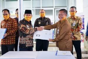 Bank Lampung Di Simpang Pematang Tempati Kantor Baru