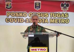 Pemkot Metro Tambah Anggaran Pencegahan Covid-2019