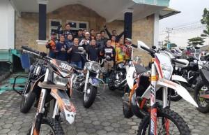 Jabol Dukung Tripel Lambar Kembangkan Olah Raga Motor Trail