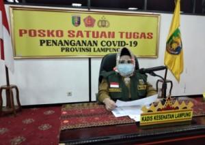 Positif Covid-19, Bupati Nonaktif Lamteng Pulang Dari Jakarta