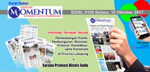 Harian Momentum Edisi 10 Oktober 2017