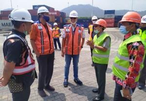 Terima Kunker Tim Kementan, IPC Panjang Siap Kawal Ekspor Komoditas Pertanian Di Lampung