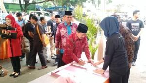 Bawaslu Lampung Gelar Deklarasi Tolak Politik Uang