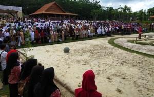 Sharing Time Megalithic Melenium Art Ajang Mempopularkan Lagu Indonesia Raya Utuh Tiga Stanza