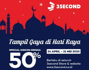 3Second Beri Diskon Spesial