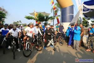 Fun Bike Festival Rajabasa, Ajang Promosi Wisata Dan Olahraga Lamsel