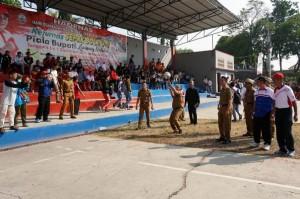 Plt Bupati Lamsel Buka Turnamen Bola Voli Dan Futsal